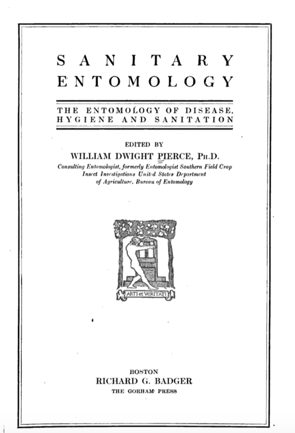 Sanitary Entomology