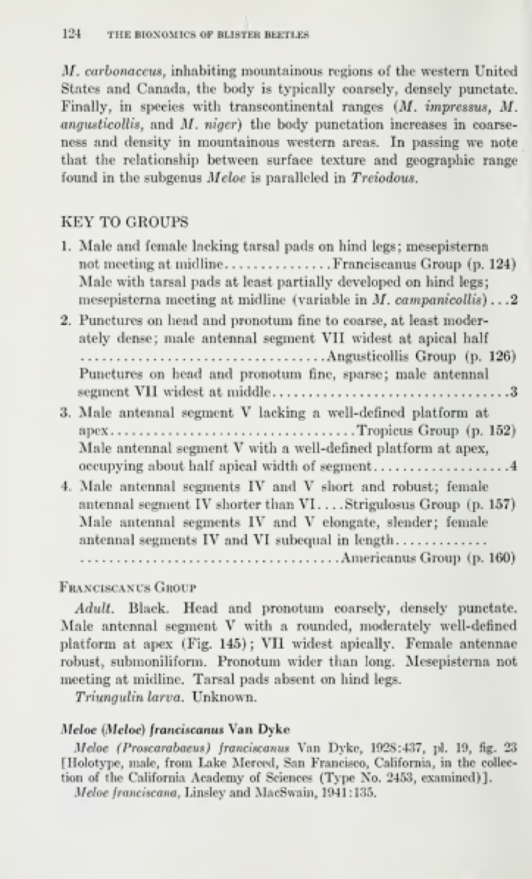 Key to Groups p. 124